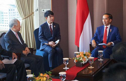 손경식 CJ 회장, 인니 대통령 만나 협력 강화 논의